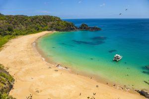Sancho Bay. Fernando de Noronha Archipelago. Pernambuco. Brazil